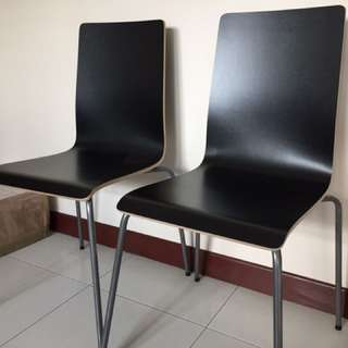 2 dining chairs New from ikea