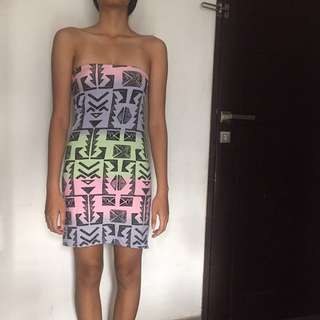 Tribal Tube Dress TOPSHOP