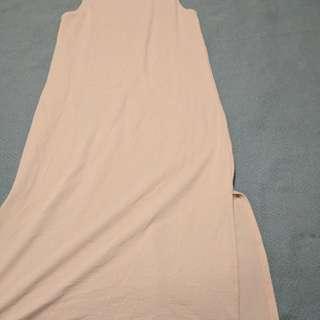 Sleeveless Mid Length Tunic/Dress Minimal