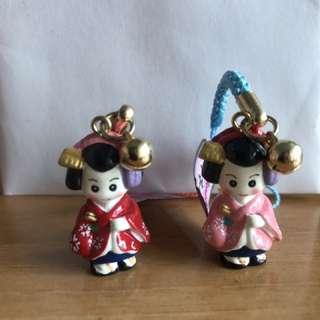 限量版日本和服裝飾 (一對)
