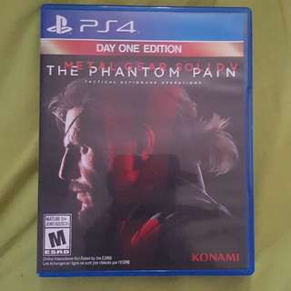 ps4 metal gear 5