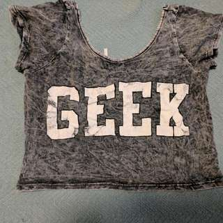 Geek Crop Top