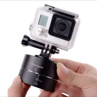 Go Pro Time Lapse Stabilizer 360 Degree Panning Rotating Panorama Head Timelapse for iphone Gopro Hero 4/3+ Session Sjcam Camera