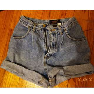 Vintage Denim Mom Shorts