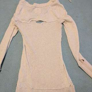 Guess Sweater Distressed
