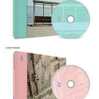 Album BTS You Never Walk Alone,left and right versi. Rp.150.000/album