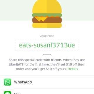 Uber eats $10 off voucher
