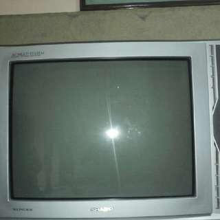 Tv Sharp 21 Inch Normal Siap Pakai