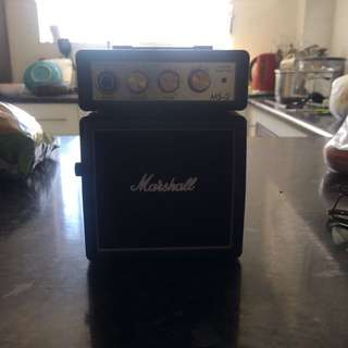 Marshal Mini Amplifier with lead