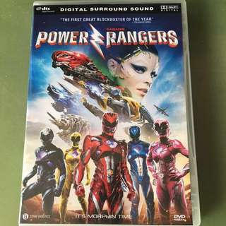 Power Rangers Moive DVD