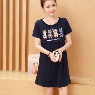 MATERNITY KOREAN DRESS