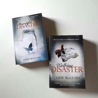Beautiful Disaster and Walking Disaster Books