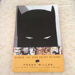 Batman: The Dark Knight Returns by Frank Miller Comic Book