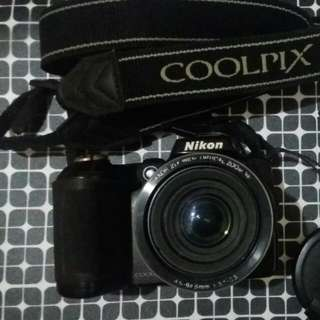 Nikon Coolpix L120 digital camera