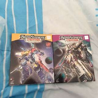 Transformers Cybertron Complete VCDs