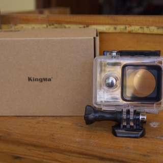 Waterproof kingma v2 xiaomi yi action camera