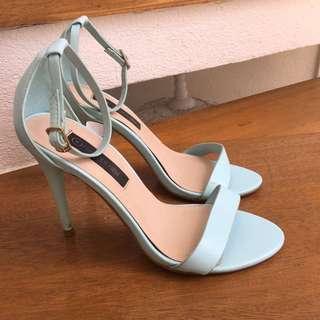 Forever New Blue Heels