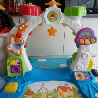 Preloved Playskool Toy Band Activity Arch