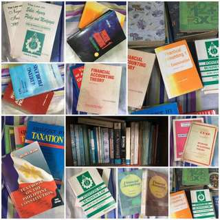 (PRE-LOVED) ACCOUNTING BOOKS  (PM for Available List & Edition) (Limited SALE only) (OLD edition)
