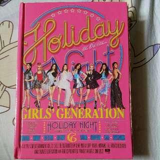 少女時代 Girls' Generation Holiday Night專輯
