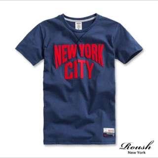 🚚 NYC 美式立體貼布短袖