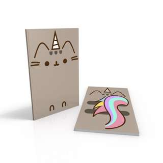 Unicorn Pusheen - Pusheen the Cat notebook