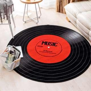 266. Anti-slip Vinyl Record Carpet