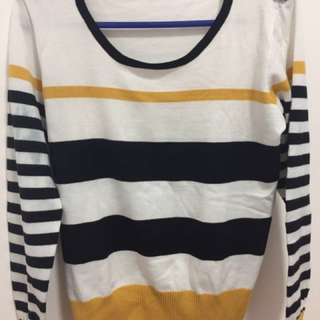 Sweater (stripes) Repriced. #GARAGESALE