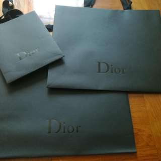 Dior Homme 新紙袋,無痕