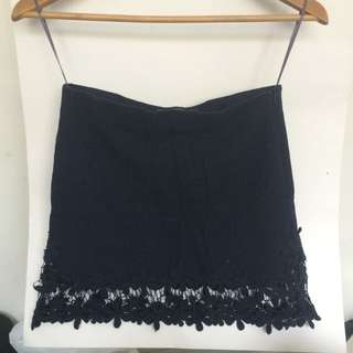 Zara Dark Blue Skirt