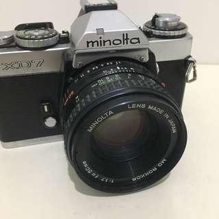 Minolta XD7 Retro Film Carmera