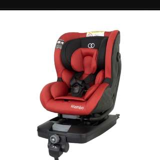 Koopers MAMBO Isofix Convertible Car Seat in Red