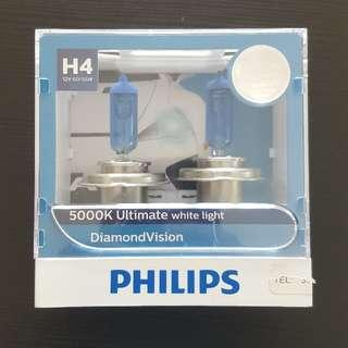 Philips H4 Headlight Lamp 5000K