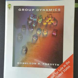 Group Dynamics (Fifth Edition)