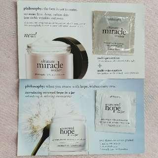 Philosophy ultimate miracle worker & renewed hope in a jar