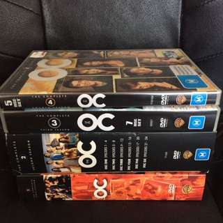 The OC Complete Series DVD's