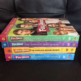 Full House Season 1-4 DVD's