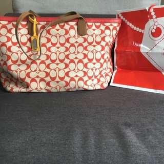 Coach Tote Hand Bag