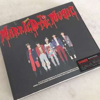 SHINee - Married To The Music CD