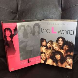 The L Word Season 1-2 DVD's
