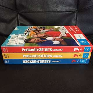 Packed to the Rafters Seasons 1-3 DVD's