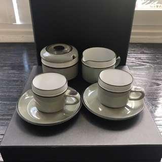 英國著名陶瓷出品 DENBY tea set! WHOLE SET!