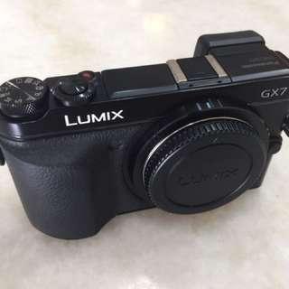 Panasonic Lumix Gx7 gx-7 body
