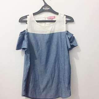 blouse sabrina by ninety degrees