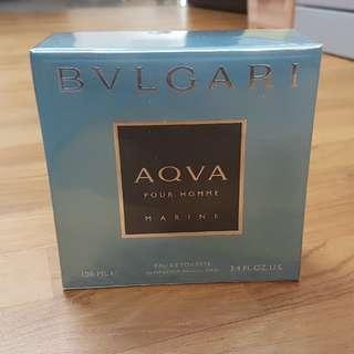 Sealed Bvlgari Aqva Eau De Toilette 100ml