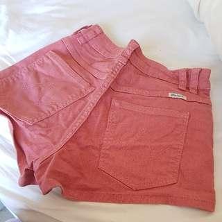 Wrangler Hi Cheeky Shorts Size 6