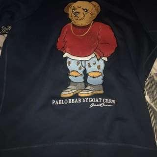 Goat crew Pablo bear jumper