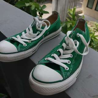Converse Ct Canvas Low Green