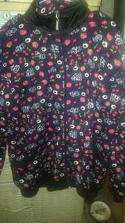 Floral jaket cotton