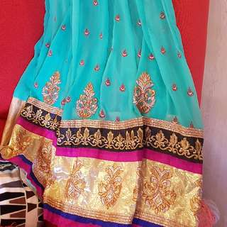 Unstiched Anarkali Suit